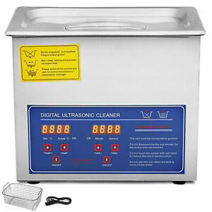 New 3l Industry Ultrasonic Cleaners Cleaning Equipment Heater W timer