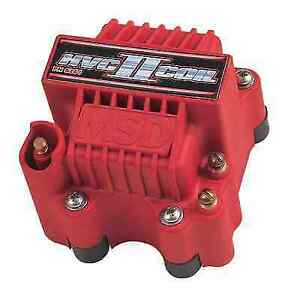 Msd 8261 Red Hvc Ii Coil Blaster For Use With Msd 7 Or 8 series Ignitions