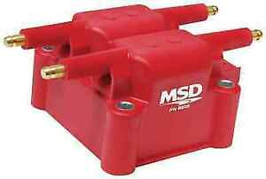 Msd 8239 Red Ignition Coil Replacement For Sebring avenger stratus wrangler tj