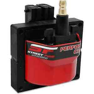 Msd 5526 Red Street Fire Ignition Coil W Square Epoxy E core For Blazer jimmy