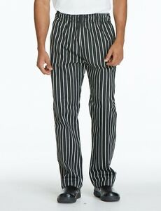 Uncommon Threads Chef Collection Traditional Chalkstripe Pant Sz S xxl