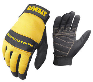 Dewalt All Purpose Synthetic Leather Palm Work Gloves
