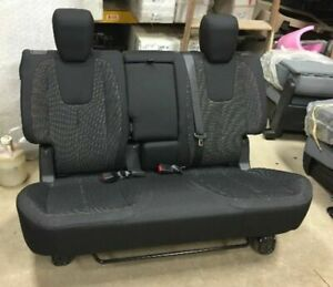 11 15 16 Chevy Equinox Suv Oem Black Cloth 2nd Row Rear Bench Seat
