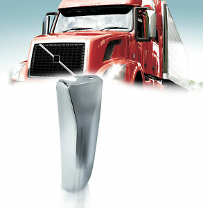 Volvo Vnl 04 17 Door Mirror Cover Chrome With Curved Back Driver Left Side