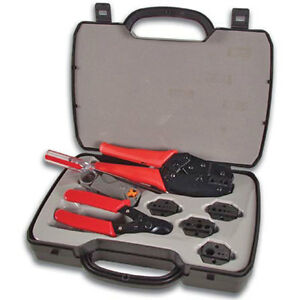 Velleman Vtbncs Coax Tool Set Crimping Cutting Stripping 0 To 41 Cable