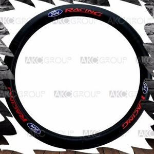 High Quality Genuine Leather Steering Wheel Cover Ford Logo For Universal Fit