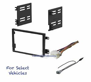 Double Din Car Radio Kit Combo For 2007 2008 2009 2010 2011 Honda Element No Lx