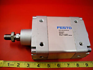 Festo Dzh 63 20 ppv a Pneumatic Air Cylinder Actuator 14073 Valve 145 Psi Used