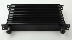 Universal 13 Row 10an An 10 Engine Transmission Oil Cooler Trust Style Black Us