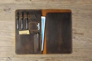 Leather Legal Pad Portfolio Leather Legal Size Legal Pad Folder Organizer Case