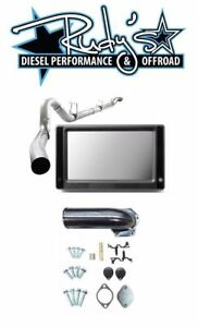 Touch Screen Tuner Dpf Egr Delete 5 Exhaust For 2008 2010 Ford 6 4l Powerstroke