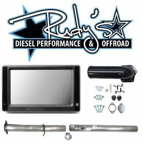 Touch Screen Tuner Egr 4 Ss Cat Dpf Delete Pipes For 08 10 Ford 6 4 Powerstroke