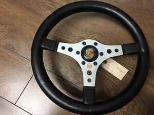 Porsche Raid Steering Wheel With Hub And Horn 8 74 89 911 930 Turbo
