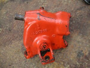 1965 Case 830 Diesel Tractor Steering Gear Box Assembly Free Shipping A20968