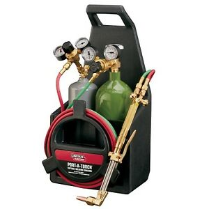 Lincoln Electric Oxygen Acetylene Welding Cutting Victor Brazing Torch Kit