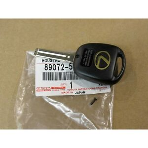 01 03 Oem New Lexus Ls430 Key Blank Remote Empty Shell Ni412bbb