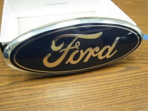 New 09 10 11 Ford Focus Front Grill Oem Emblem Blue Oval