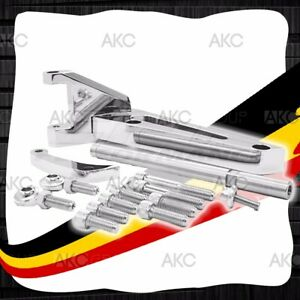 Chrome Aluminum Alternator Bracket For Chevy Bb 396 402 427 454 502 Swp Engines