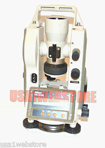 Nikon Ne 20s Electronic Theodolite Sold As Is