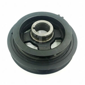New Harmonic Balancer Crankshaft Belt Drive Pulley For 95 01 Nissan Maxima I30