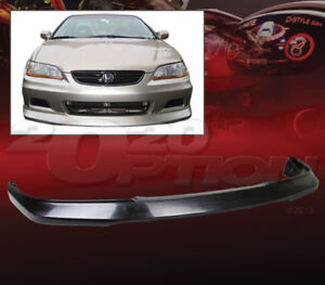 Oe Style Polyurethane Front Bumper Lip Spoiler For 01 02 Honda Accord 2dr Coupe Fits 2002 Honda Accord