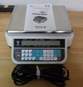 Open Box 6 Lb X 0 001 Lb Rice Lake Dc 782 Digi Digital Counting Scale light Use