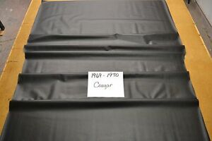 1969 69 1970 70 Mercury Cougar Black Perforated Headliner Usa Made Top Quality
