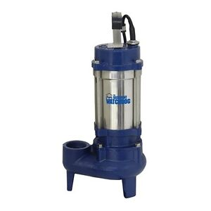 Basement Watchdog Submersible Sump Pump 1 Hp Stainless Steel Cast Iron 109 Gpm