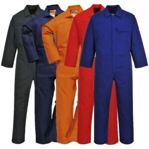 Portwest C030 Safe welder Flame Resistant Work Coverall 5 Colours Size Small 3xl