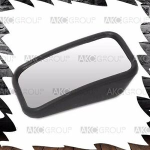 1x Slim Convex Rectangle Blind Spot Mirror Adhesive Stick On For Universal Fit