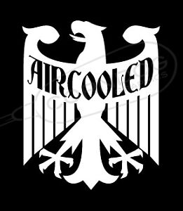 Aircooled Eagle Vinyl Sticker Decal Vw Volkswagen Gti Jetta Golf Beetle Bug Bus