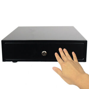 12 Compact Pos Manual Cash Drawer Portable Restaurant Kiosk Retail