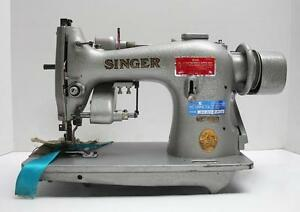 Singer 95 82 Shirring Right Knife Lockstitch Industrial Sewing Machine Head Only