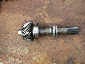 1958 Ford 961 Gas Farm Tractor Rear End Differential Pinion Shaft Free Shipping