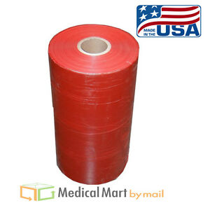 1 Roll Red Machine Pallet Film 30 X 5000 Stretch Wrap 80 Ga