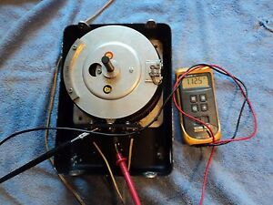 General Radio W20m 120v pri 20amp Variac Adjustable Transformer Shown Working
