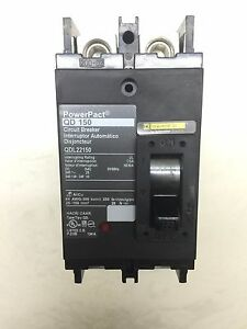 Powerpact Qd 150 Circuit Breaker By Square D Qdl22150 2 Pole 150a 240v new
