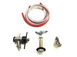 Keg Door Mount Kegerator Beer Tap Conversion Kit 3 1 4 Stainless Steel Stem