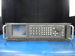 Tektronix Tg 2000 Signal Generation Platform W awvg1 Bg1 Cpu Modules