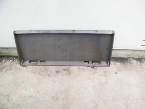 Universal Skid Steer Quick Attach Mounting Plate Us Made Extreme Duty 3 8 Weld