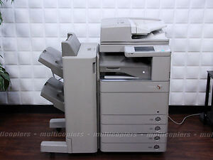 Canon Imagerunner Advance C5051 Color Mfp Copier Print Fax Scan Email 5051 5045
