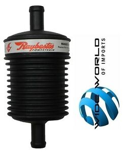 Raybestos 3 8 Inline Magnetic Transmission Filter 2 Pack