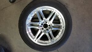 Set Of 4 New 20 Brabus Replica Wheels With Used Tires For Mbz Suv