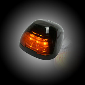 Recon 264143bkx Single Smoked Cab Light W Amber Leds For Ford F250 Super Duty