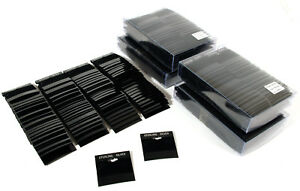 500 Black Sterling Silver Hanging Earring Cards 2 X 2