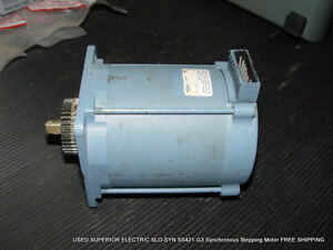 Used Superior Electric Slo syn Ss421 g3 Synchronous Stepping Motor Free Shipping
