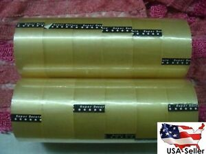 24 Roll Clear Packaging Box Tape 100 Yard Free Shipping In U s a Shipper