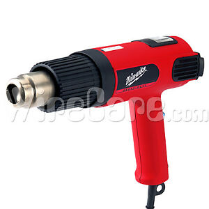 Milwaukee Heavy Duty Variable Temp Heat Gun Led Display