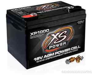 Xp1000 Xs Power Sealed Agm 16 Volt 3 300 Max Amp Lead Acid Battery W Hardware