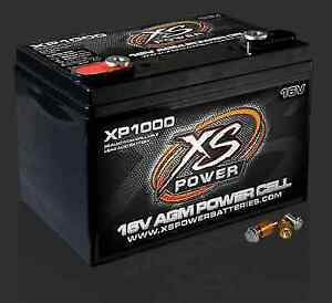 Xs Power Xp1000 16 Volt Agm Battery 575 With M10 Terminal Hardware Included